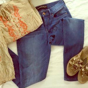 Express legging jean jegging mid rise size 2